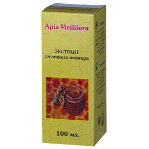 Апис Меллифера пчелиный подмор - экстракт, 100мл