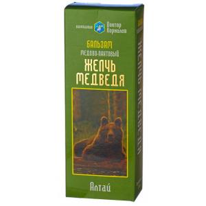 Бальзам медово-пантовый Желчь медведя - Доктор Корнилов, 250 мл