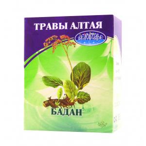Бадан толстолистный (корень), 50гр