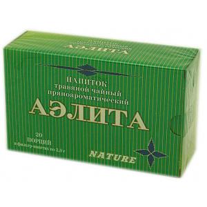 Травяной пряноароматический напиток Аэлита, 20 ф/п