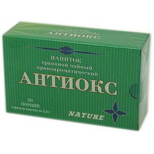 Травяной пряноароматический напиток Антиокс, 20 ф/п
