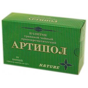 Травяной пряноароматический напиток Артипол, 20 ф/п