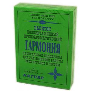 Травяной пряноароматический напиток Гармония, 20 ф/п