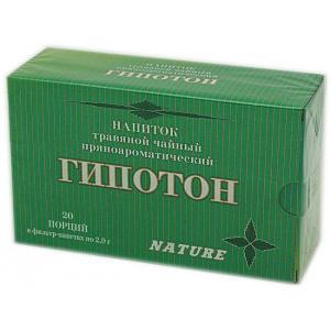 Травяной пряноароматический напиток Гипотон, 20 ф/п