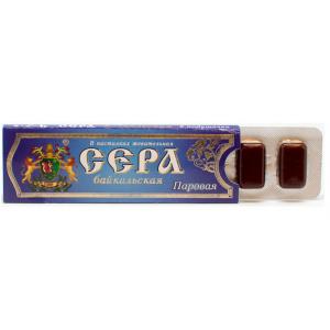 Эко-жвачка Байкальская Сера паровая, 5 шт
