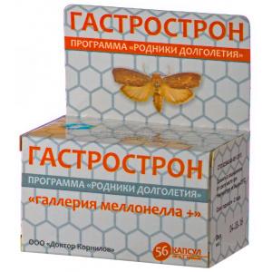 Гастрострон с восковой молью - Доктор Корнилов, 56 капсул