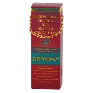Гиалуроновая кислота для области вокруг глаз Gemene, 10 мл