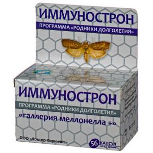 Иммунострон с восковой молью - Доктор Корнилов, 56 капсул