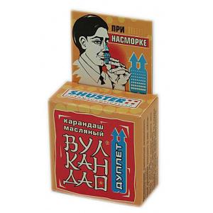 """Ингалятор масляный карандаш от насморка """"Вулкан Дао"""", 5 г"""