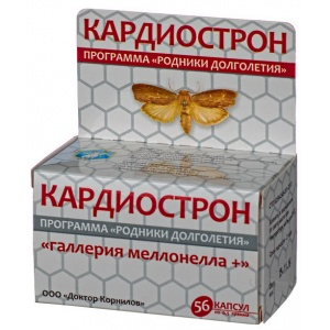 Кардиострон с восковой молью - Доктор Корнилов, 56 капсул