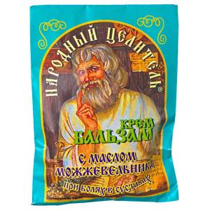 Крем-бальзам при болях в суставах, с маслом можжевельника, 10мл
