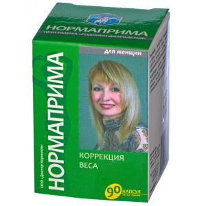 Нормаприма - Коррекция веса  для женщин -  Доктор Корнилов, 90 капсул