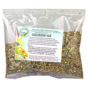 Сбор трав - Бабушкин чай, 100гр