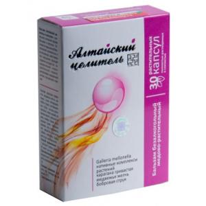 Алтайский целитель - бальзам медово-растительный, 30 капсул