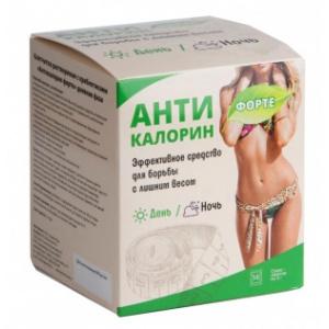 Антикалорин форте - клетчатка растворимая с пребиотиками, 14 саше-пакетов