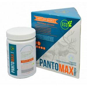 Пантовые драже-орешки для потенции Pantomax Fortex