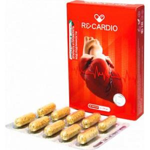 Рекардио (Recardio) для сердечно-сосудистой системы, 20 капсул