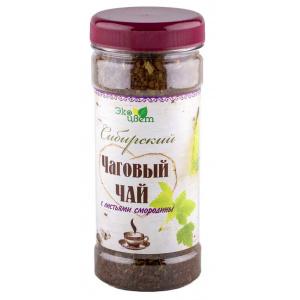 Чаговый чай с листьями смородины, 90 г