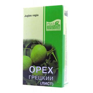 Грецкий орех (листья), 50гр