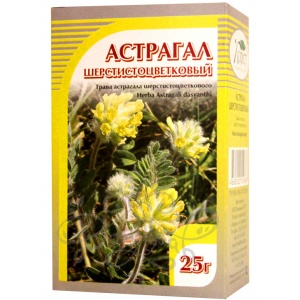 Астрагал шерстистоцветковый (трава), 25гр
