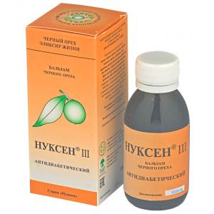 Бальзам Нуксен III Антидиабетический, 100мл