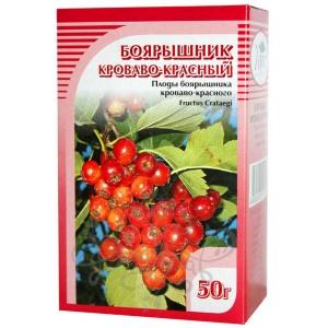 Боярышник кроваво-красный (плоды), 50гр