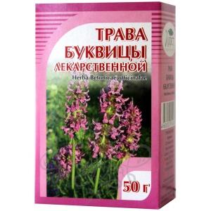 Буквица лекарственная (трава), 50гр