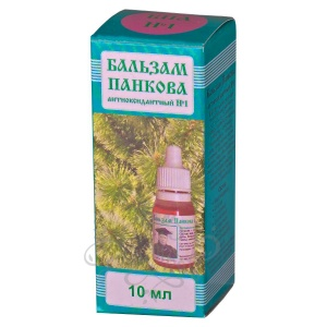 Глазные капли - Бальзам Панкова антиоксидантный (БПА№1), 10мл