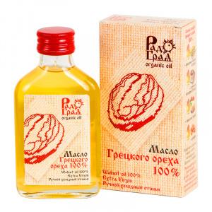 Грецкого ореха масло (100%), РАДОГРАД, 100мл
