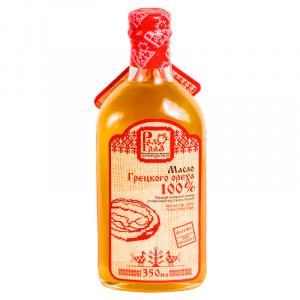 Грецкого ореха масло (100%), РАДОГРАД, 350мл