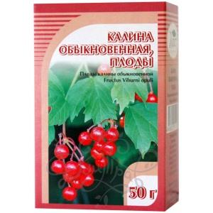 Калина обыкновенная (плоды), 50гр