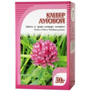 Клевер луговой (цветы и трава), 50гр