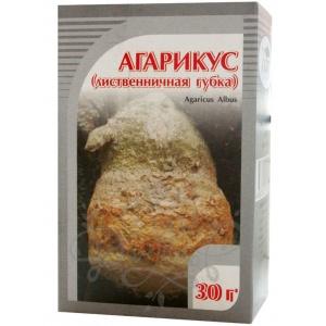 Лиственничная губка (агарикус), 30гр