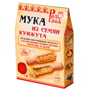 Мука из семян кунжута, РАДОГРАД, 200гр