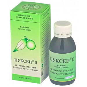 Нуксен II, антипаразитарный, кровоочистительный бальзам, 100мл