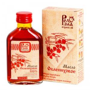 Облепиховое масло (100%), РАДОГРАД, 100мл