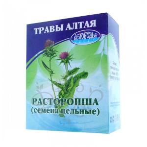Расторопша (семена цельные), 50гр