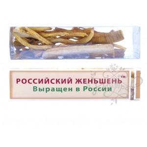 Российский Женьшень, корень сухой 25гр, в тубе