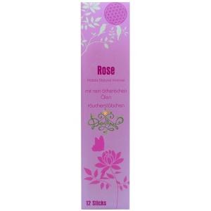Роза - натуральные аромапалочки, 12шт