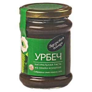 Урбеч - натуральная паста из конопли, 280гр