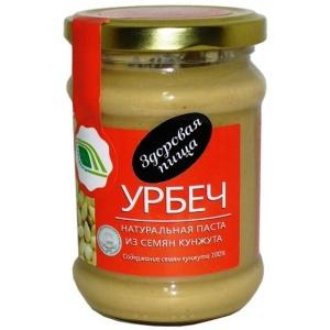 Урбеч - натуральная паста из семян кунжута, 280гр