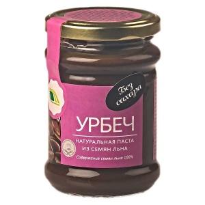 Урбеч - натуральная паста из семян льна, 280гр