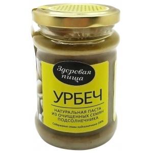 Урбеч - натуральная паста из семян подсолнечника, 280гр