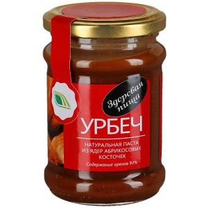Урбеч - натуральная паста из ядер абрикосовых косточек, 280гр