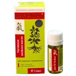 Зелёное масло Дан'Ю Па-Вли ® при псориазе и демодекозе (для наружного применения), 12мл