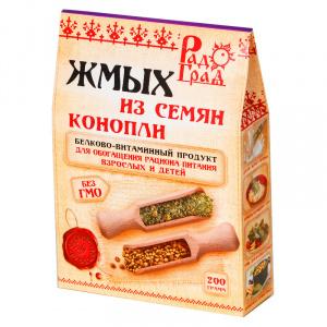 Мука из семян конопли, РАДОГРАД, 200гр
